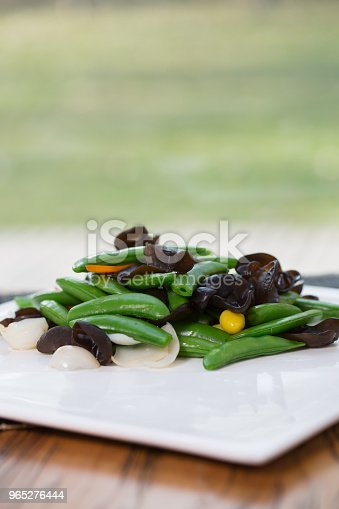 Vegetarian Food Jews Ear Stock Photo & More Pictures of Asparagus