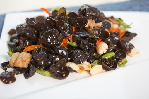 Foto de Comida Vegetariana e mais fotos de stock de Agárico - Fungo