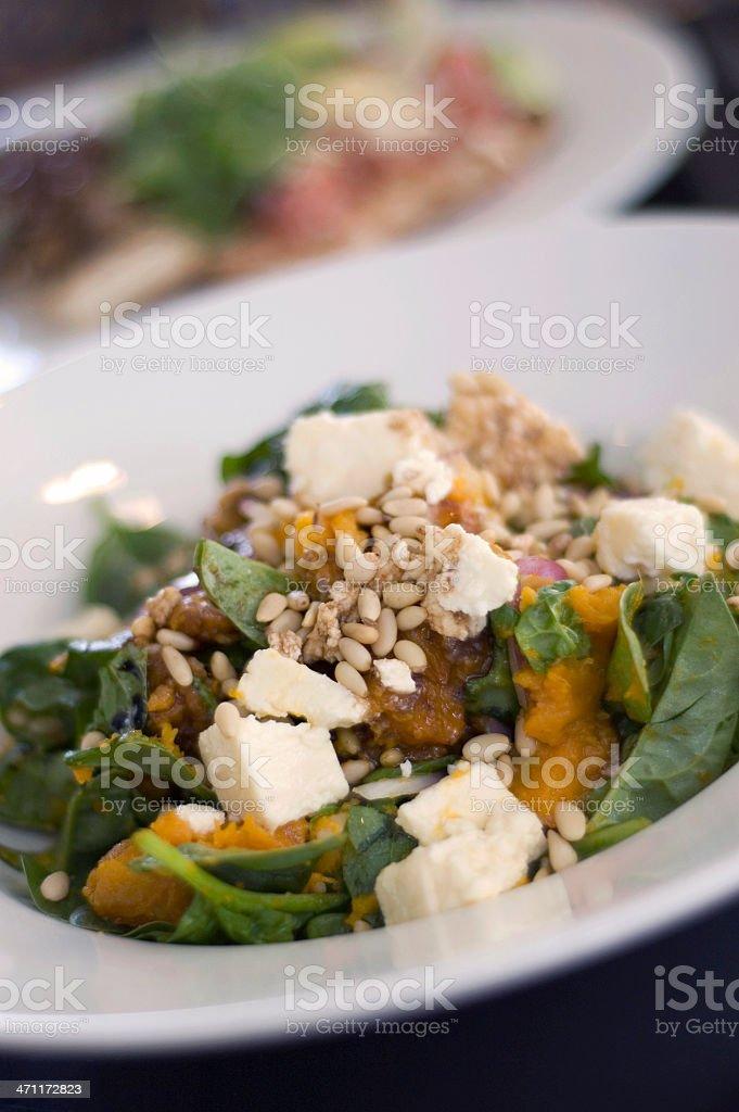 vegetarian gourmet salad royalty-free stock photo