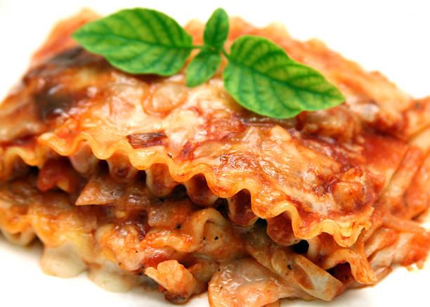 Vegetarian Lasagna stock photo