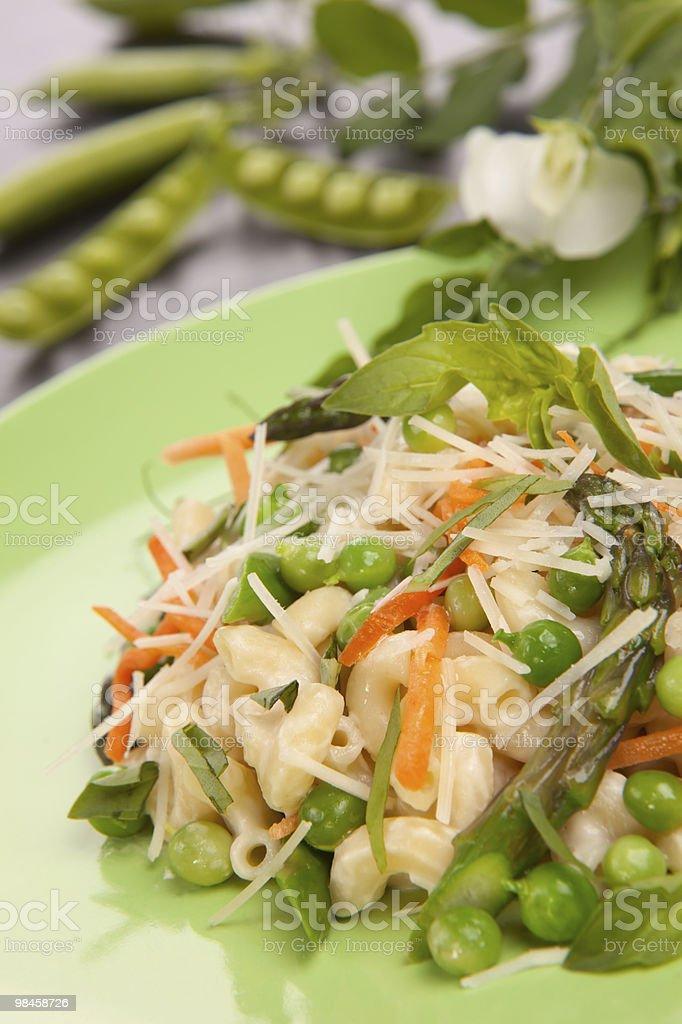 Vegetarian Pasta royalty-free stock photo