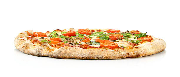 Vegetarian Pizza - 05 stock photo