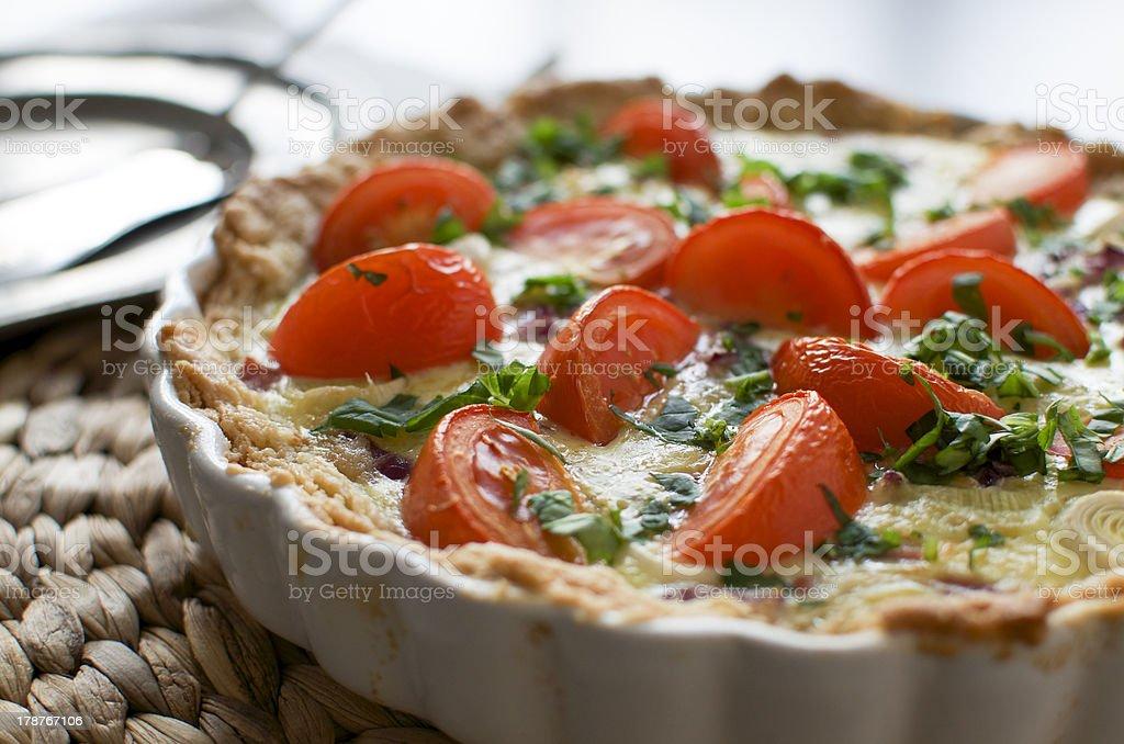 Vegetarische-quiche – Foto