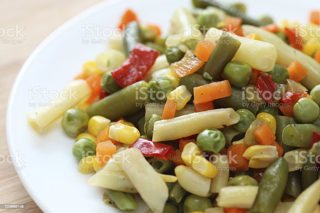 Vegetarian salad royalty-free stock photo