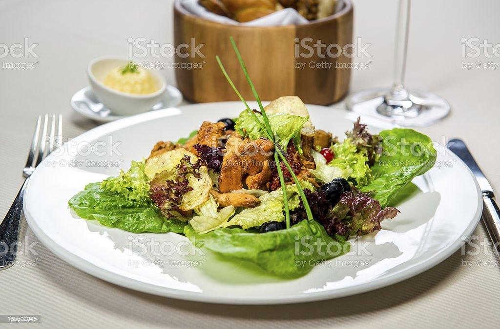 Vegetarian salad royalty-free stock photo
