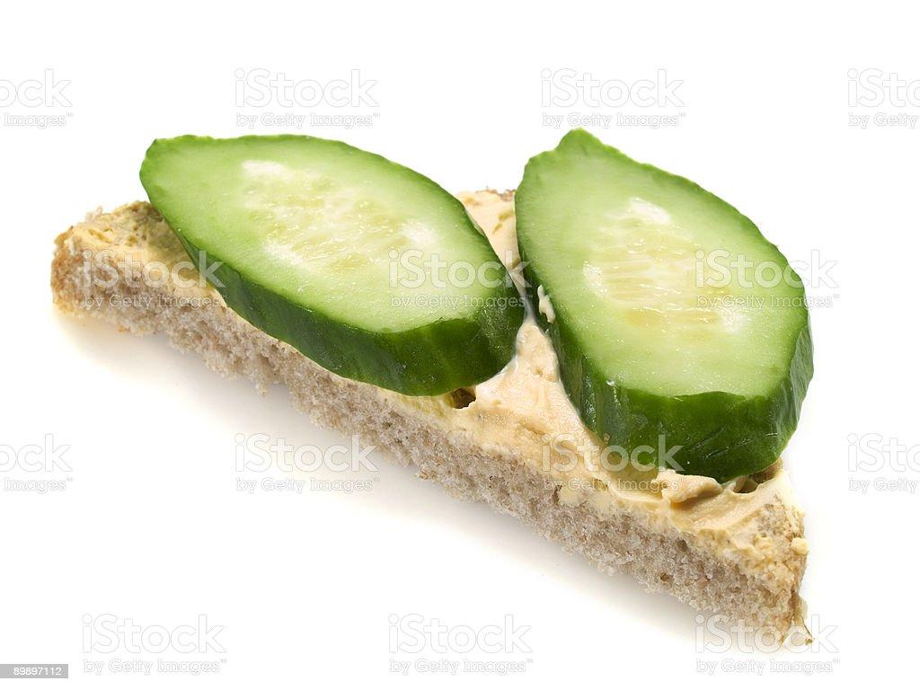 Вегетарианская сэндвич Стоковые фото Стоковая фотография