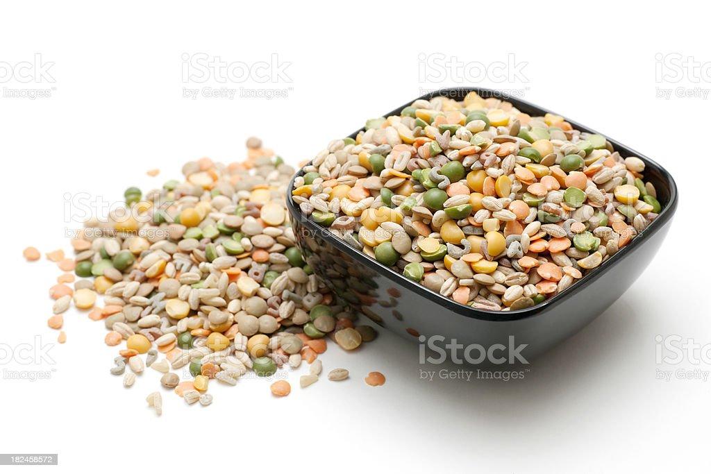 vegetarian soup mix royalty-free stock photo