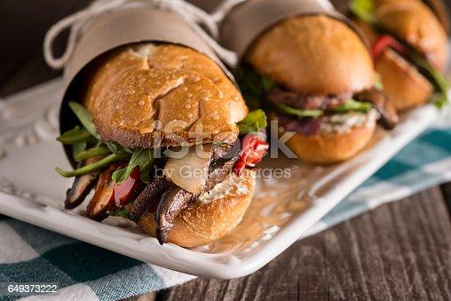 Vegetarian Submarine Sandwiches (Hoagies)