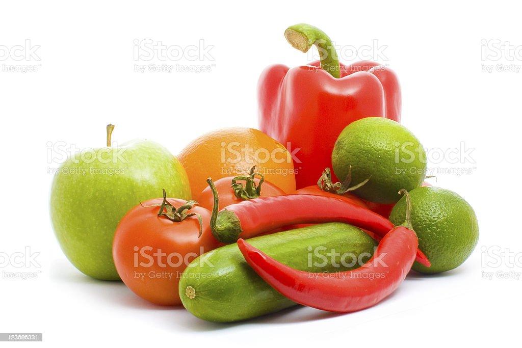 vegeterian composition stock photo