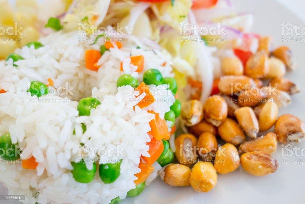 Vegeterian Food stock photo