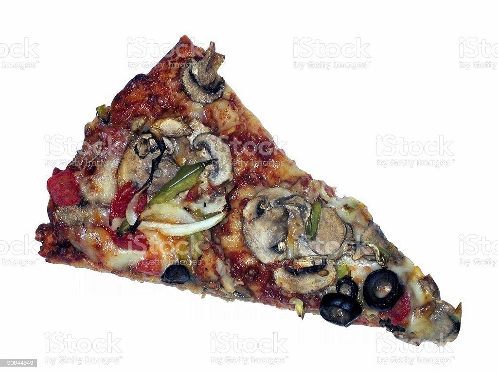 veggie pizza royalty-free stock photo