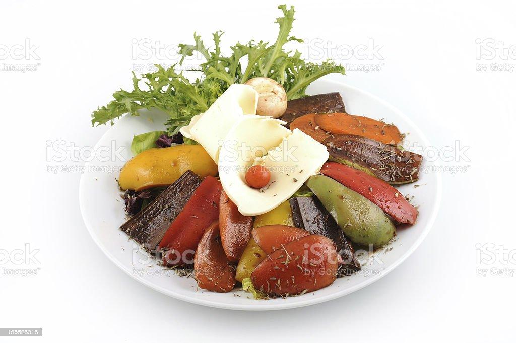veggie salad royalty-free stock photo