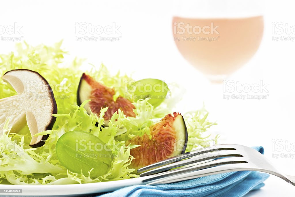 Veggie salad royalty-free stock photo