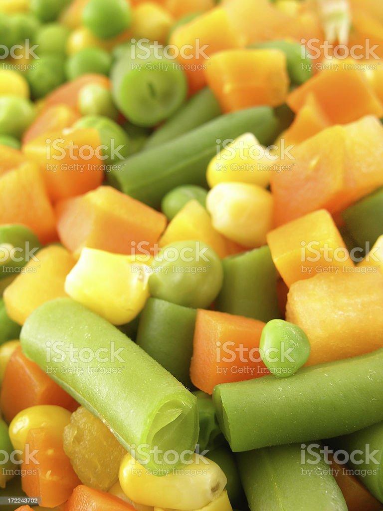 Veggies mix royalty-free stock photo