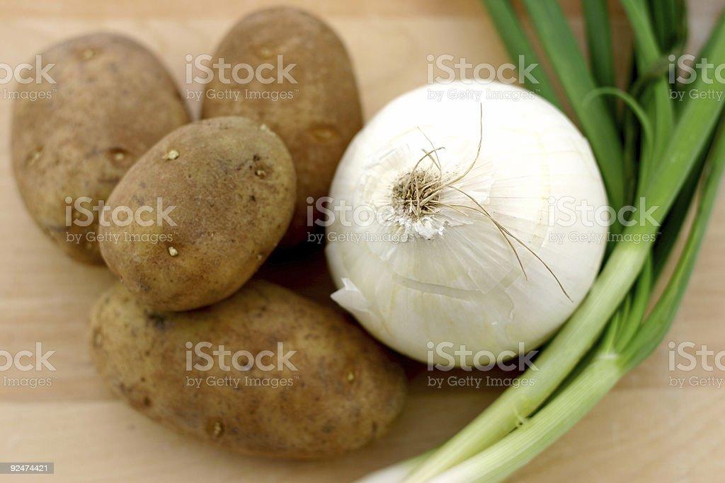 Veggies. royalty-free stock photo