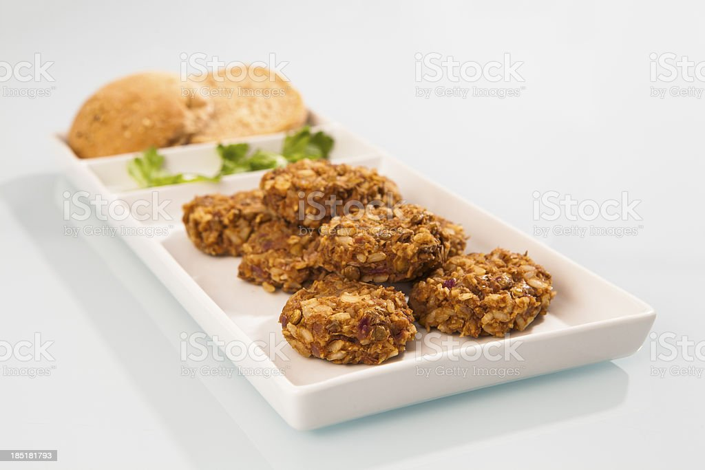 Vegi burgers stock photo