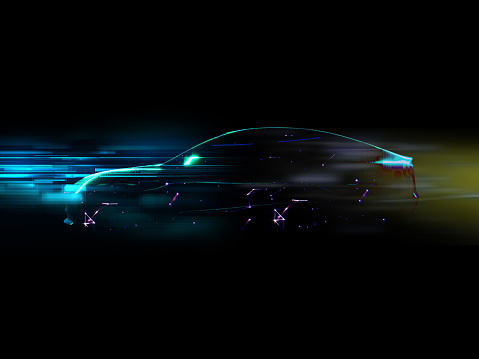870169952 istock photo Vehicle autonomous driving technology 962731578