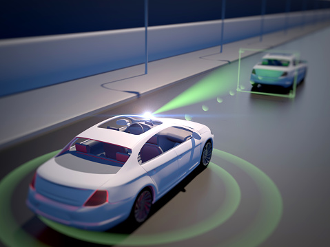 Vehicle Autonomous Driving Technology Stock Photo - Download Image Now