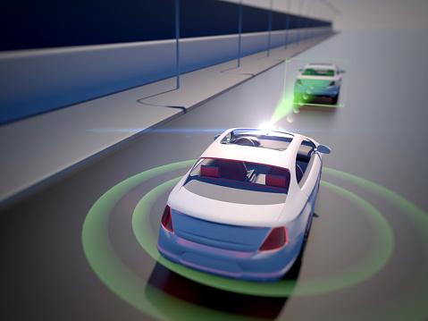 870169952 istock photo Vehicle autonomous driving technology 965238816