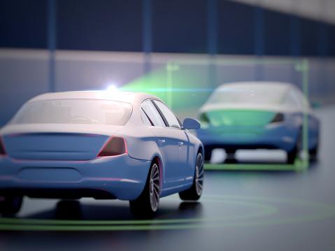 870169952 istock photo Vehicle autonomous driving technology 965238822