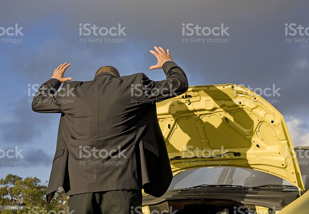 Vehicle Breakdown royalty-free stock photo