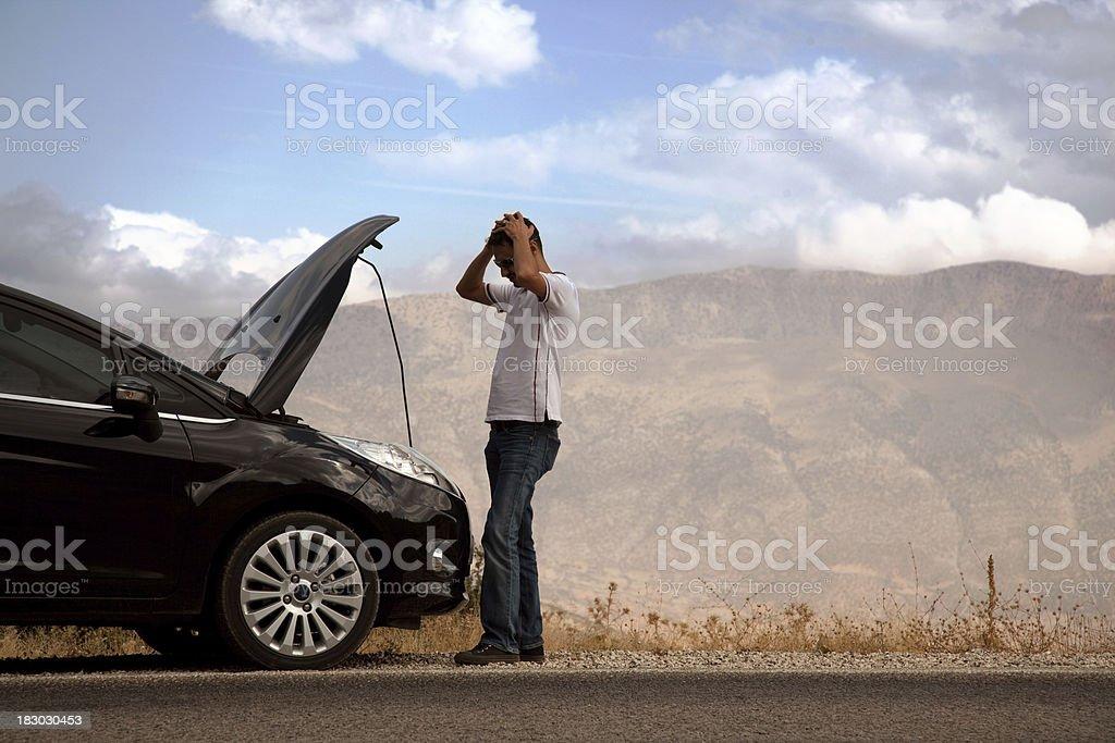 Vehicle Breakdown royalty-free stock photo