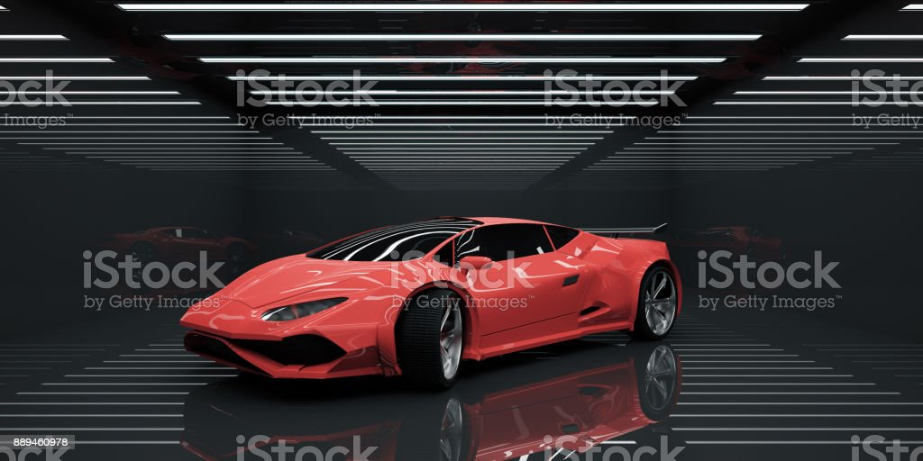 Vehicle concept - foto stock