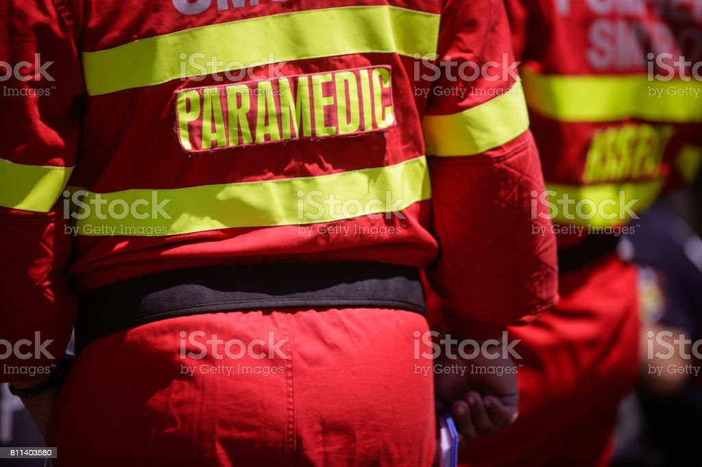 Vehicle extrication stock photo