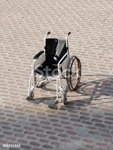 istock Vehicle for handicapped persons 856414444