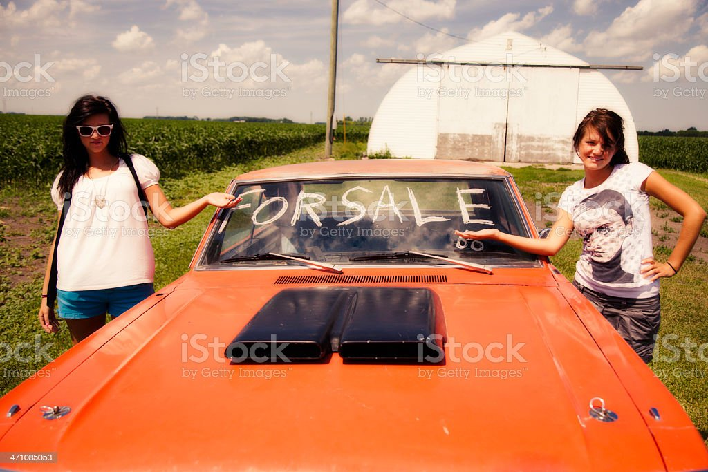 Vehicle For Sale royalty-free stock photo