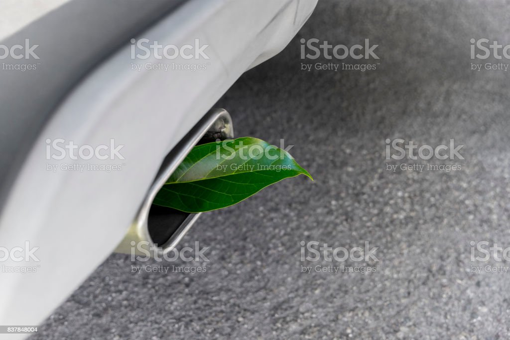 Vehicle Greenhouse Gas Emissions stock photo