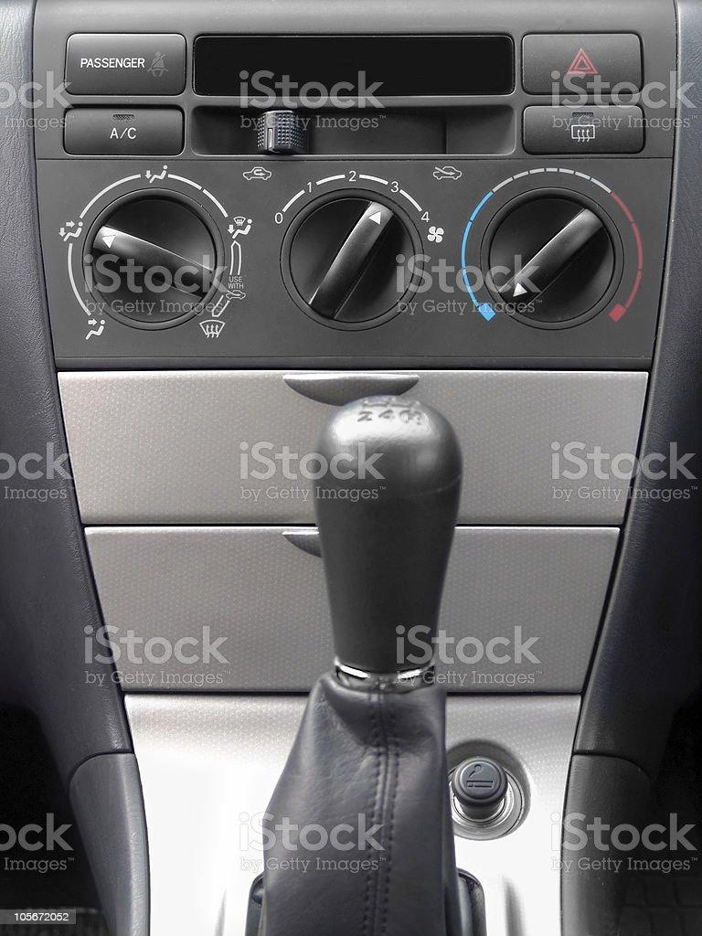 Vehicle Interior royalty-free stock photo