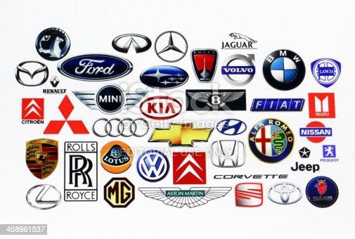 istock Vehicle manufacturer logos 458961537