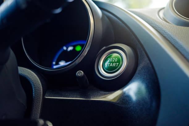 2020 Vehicle Push Start Engine Button – Foto