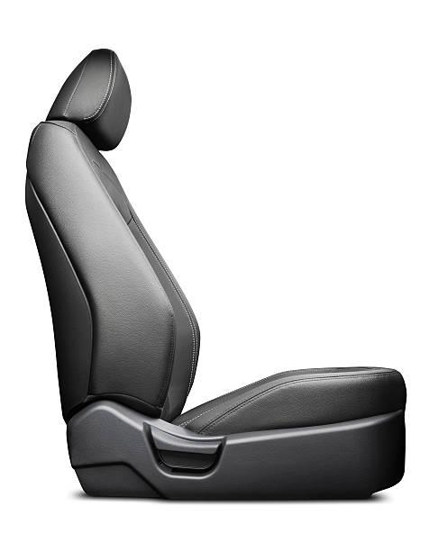 Vehicle Seat - Isolated w/ Path stock photo
