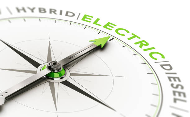 vehicle type choice, choosing electric car - auto a combustibile alternativo foto e immagini stock