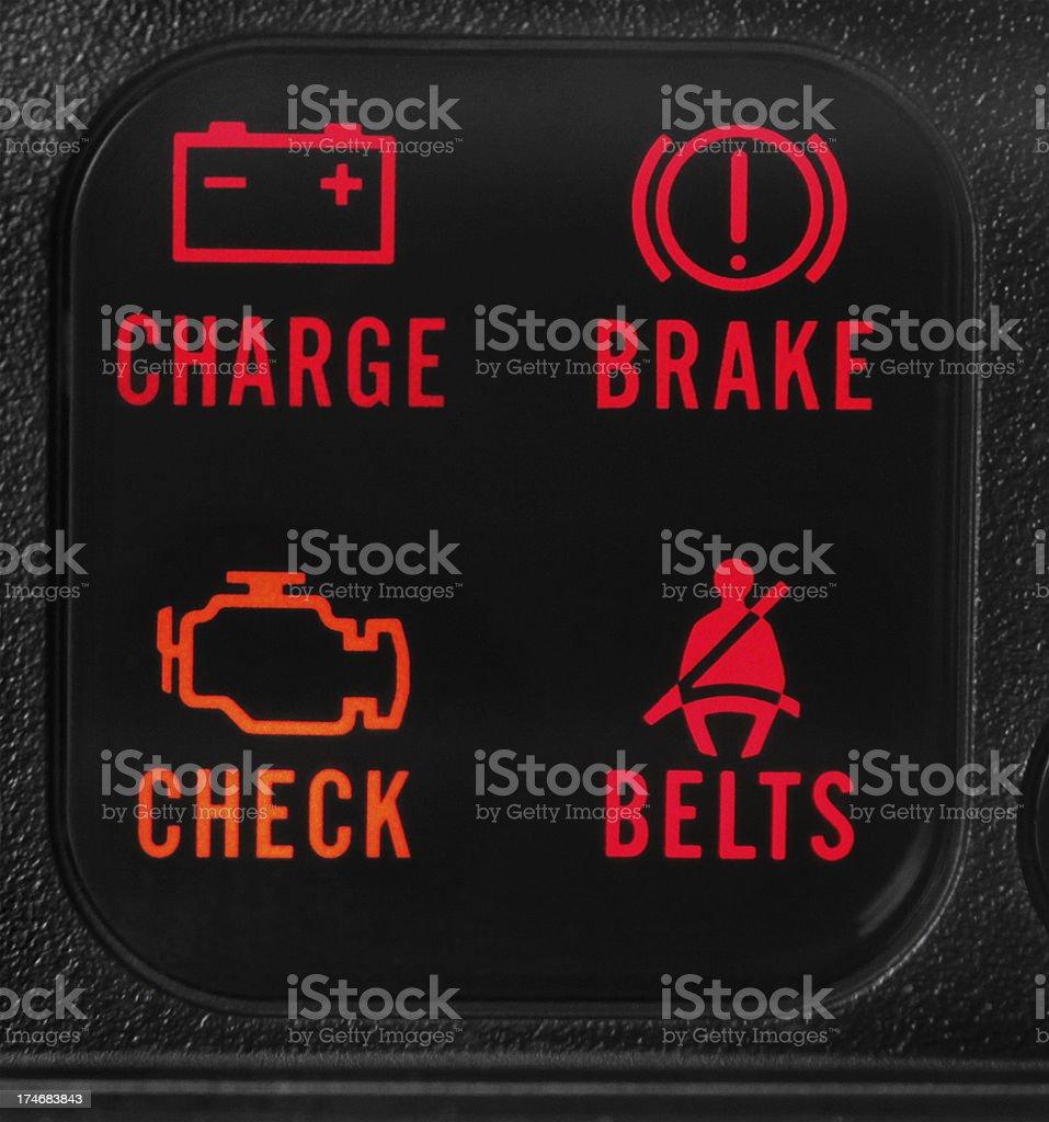 Vehicle Warning Lights Royalty Free Stock Photo