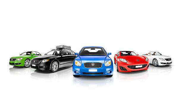 Vehicles Collection stock photo