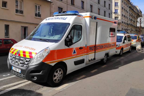 Véhicules de la Protection Civile de Paris - Photo