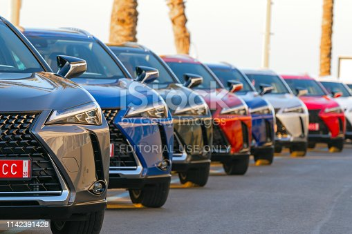 133277230 istock photo SUV vehicles on the parking 1142391428