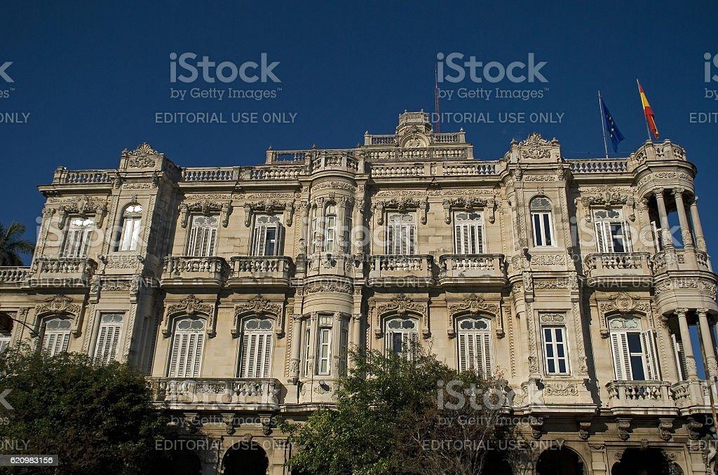 Velasco Palace, Havana, Cuba foto royalty-free