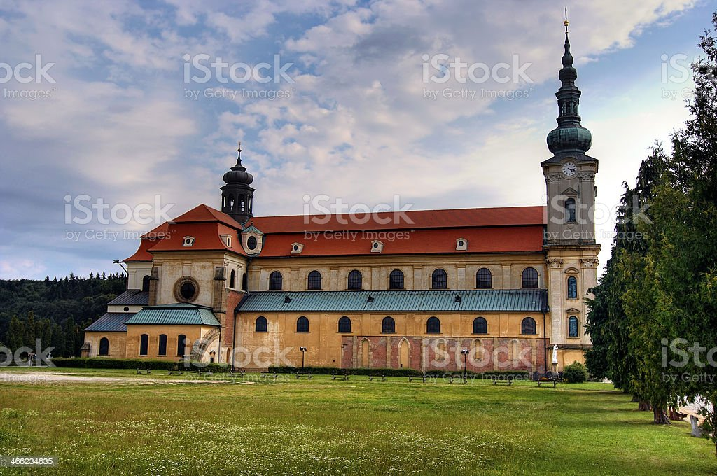 Velehrad - The Basilica of Assumption Virgin Mary royalty-free stock photo