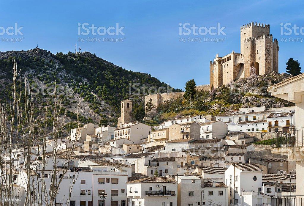 Velez Blanco Castle stock photo