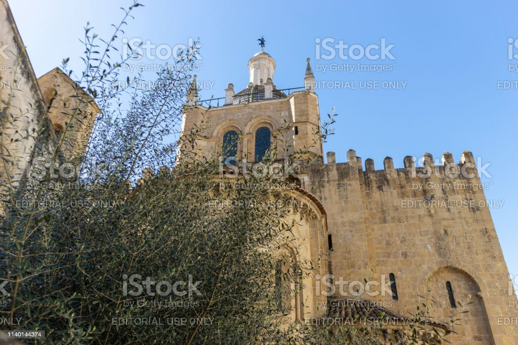 Sé Velha de Coimbra, Portugal-Stock photography - foto stock
