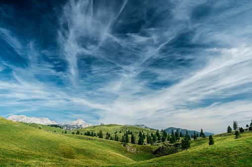 istock Velika planina, Slovenija 1126934106