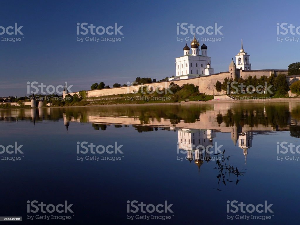 Velikaya River royalty-free stock photo