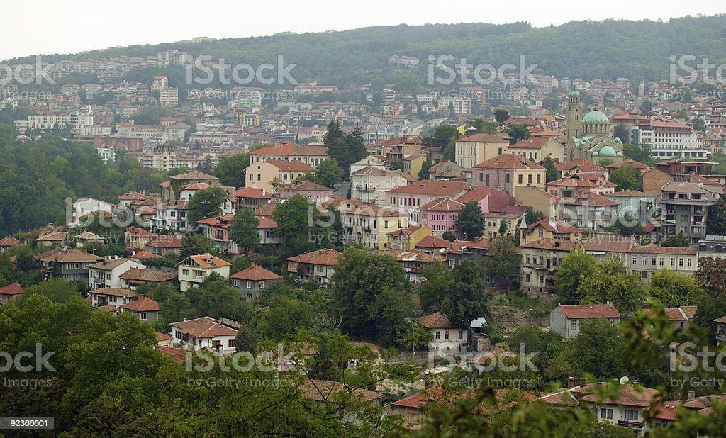 Veliko Tarnovo, Bulgaria - general view royalty-free stock photo