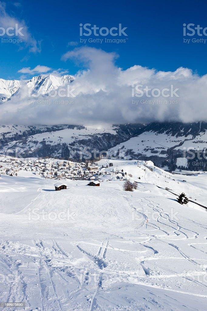 Vella in Winter royalty-free stock photo