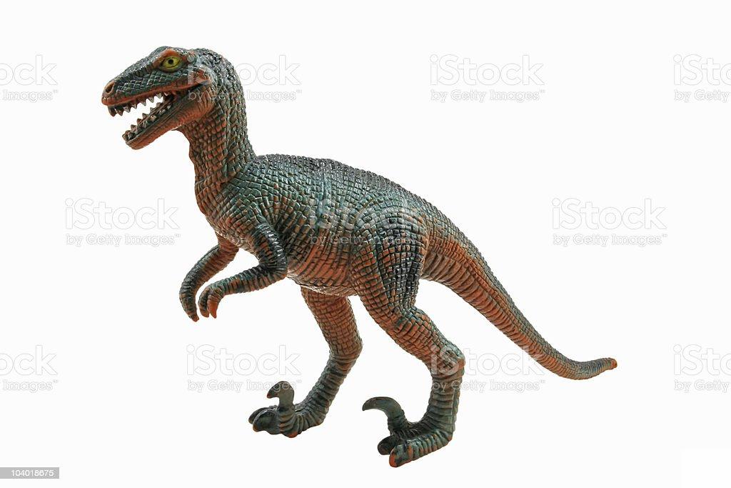 Velociraptor - foto de acervo