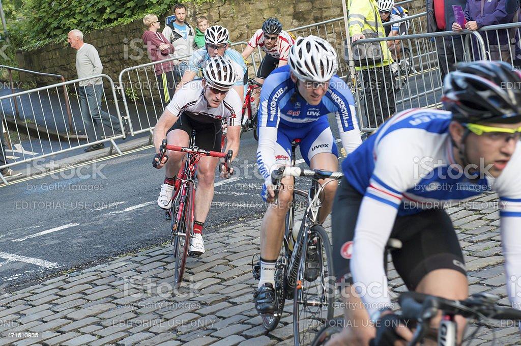 Velocity lancaster Cycle Race royalty-free stock photo